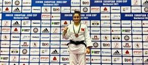 Judocumuz Hasret Bozkurt'tan bronz madalya