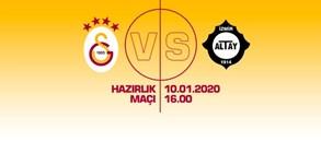 Maça doğru | Galatasaray - Altay