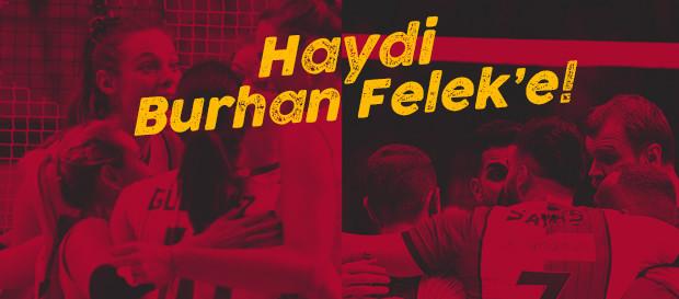 Pazar günü Burhan Felek'te voleybol şöleni yaşanacak