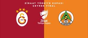 Ziraat Türkiye Kupası Çeyrek Finali'nde rakibimiz Aytemiz Alanyaspor