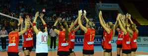 Galatasaray Daikin 3 - 1 ASPTT Mulhouse