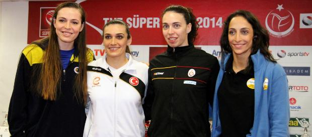 Bayanlar Süper Kupa Dörtlü Finali Basın Toplantısı Yapıldı