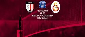Maça doğru | CSM Volei Alba BLAJ - Galatasaray