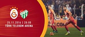 Maça doğru | Galatasaray – Bursaspor