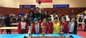 Beyoğlu İlçe Okul Sporları Satranç Turnuvası'nda başarılı dereceler