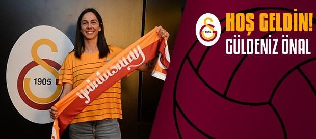 Güldeniz Önal yeniden Galatasaray'da