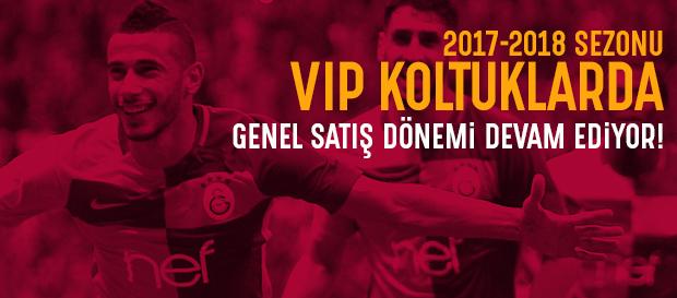 VIP Koltuklarda Genel Satış Dönemi DEVAM EDİYOR