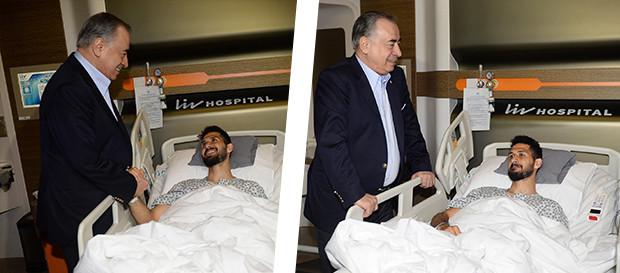 Başkanımız Mustafa Cengiz'den Emre Akbaba'ya ziyaret