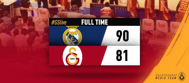 Real Madrid 90–81 Galatasaray Odeabank