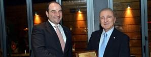 Başkan Ünal Aysal GSYİAD'ın Yılbaşı Yemeğine Katıldı