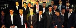 UEFA Şampiyonu Kadro Galatasaray Adası'nda Buluştu