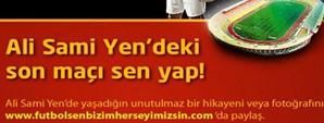 Ali Sami Yen'de Son Maç Taraftarımızın