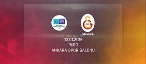 Maça Doğru: Türk Telekom – Galatasaray Odeabank