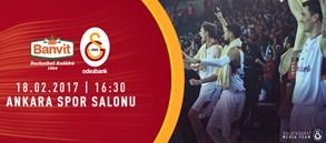 Maça doğru   Banvit – Galatasaray Odeabank