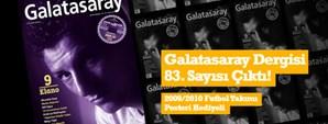 Galatasaray Dergisi Ekim Sayısı Bayilerde