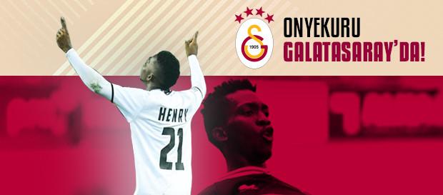 Henry Onyekuru Galatasaray'da