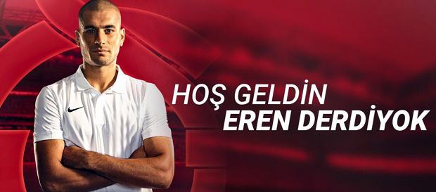 Eren Derdiyok Galatasaray'da