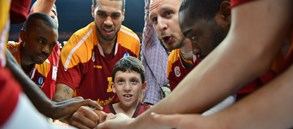 Yusuf Okur'lu Galatasaray Odeabank Çeyrek Final'de
