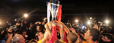 Şampiyonluk Kupasını Kaldırdık