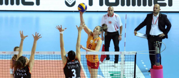 Galatasaray 1-3 Eczacıbaşı Vitra