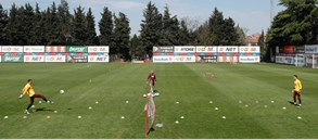 Galatasaray returns to training ground after COVID-19 hiatus