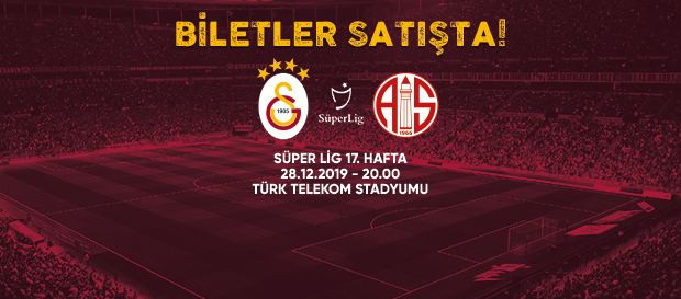 Antalyaspor maçı biletleri satışta