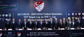 Süper Lig ve TFF 1. Lig yayın ihalesi yapıldı