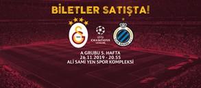 Club Brugge maçı biletleri satışta
