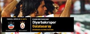 Maça Doğru: Diyarbakırspor – Galatasaray