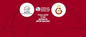 Maça doğru | Hatay BB – Galatasaray