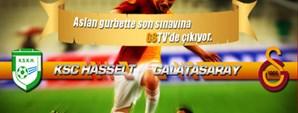 Maça Doğru: KSK Hasselt - Galatasaray