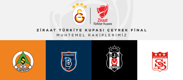 Ziraat Türkiye Kupası Çeyrek Finali rakibimiz belli oluyor