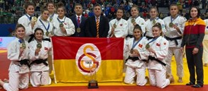 Galatasaray Judo earns bronze in European Clubs Championship