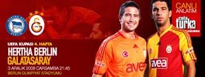 Maça Doğru: Hertha Berlin - Galatasaray