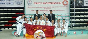 Kadın judocularımız namağlup şampiyon