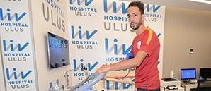Futbolcularımız Sağlık Kontrolünden Geçti