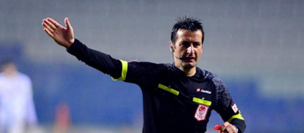 Bursaspor maçının hakemi Suat Arslanboğa