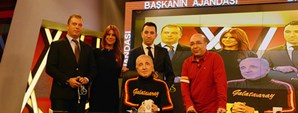 Başkan Ünal Aysal Galatasaray TV'deydi