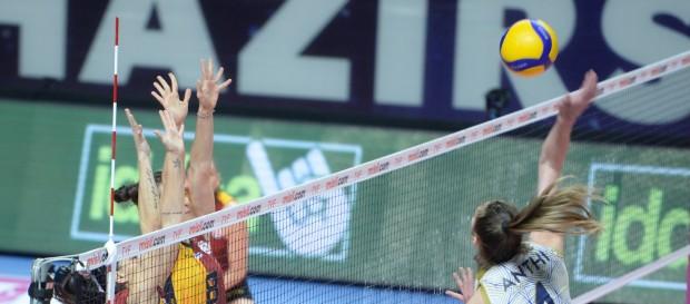 Galatasaray HDI Sigorta 0-3 Aydın Büyükşehir Belediye