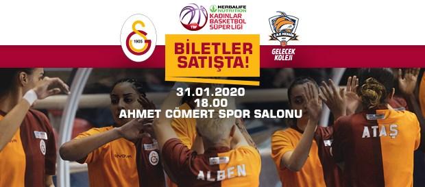Gelecek Koleji Çukurova Basketbol maçının biletleri satışta