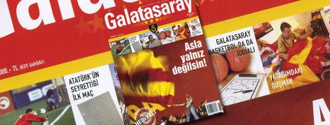 Galatasaray Dergisi 6. Sayı İçeriği