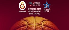 Maça doğru | Galatasaray Odeabank – Anadolu Efes