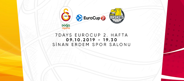 Maça doğru | Galatasaray Doğa Sigorta – EWE Baskets Oldenburg
