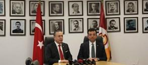Başkanımız Mustafa Cengiz, İstanbul Büyükşehir Belediye Başkan Adayı Ekrem İmamoğlu'nu konuk etti