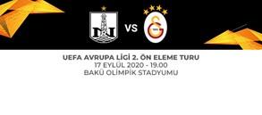Maça Doğru   Neftçi - Galatasaray