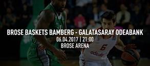 Maça doğru | Brose Baskets Bamberg – Galatasaray Odeabank