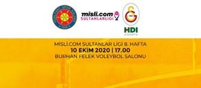 Maça Doğru | Sistem9 Yeşilyurt - Galatasaray HDI Sigorta